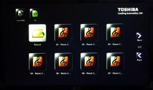 Toshiba stor.e tv+ screenshot browsing