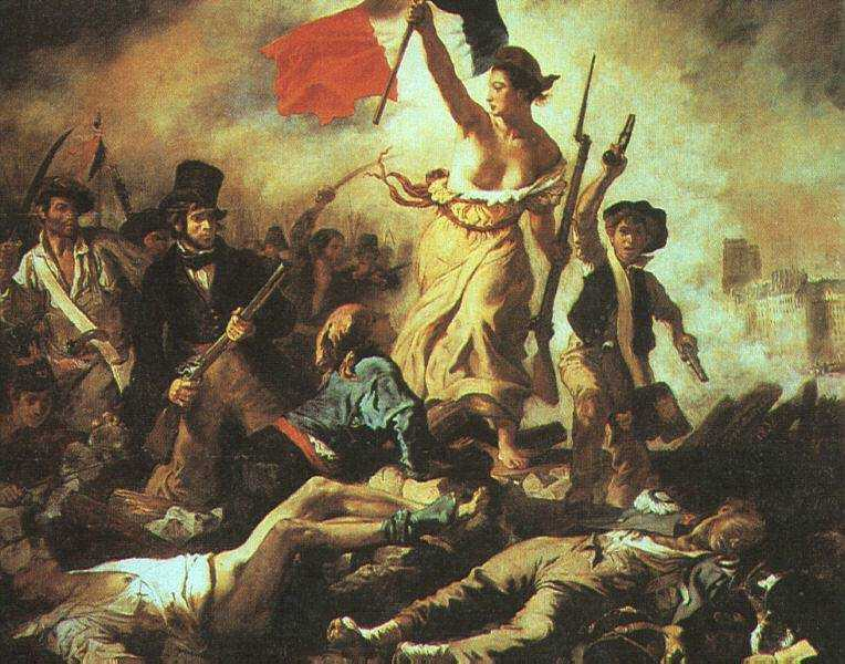 Leading the People, Eugene Delacroix