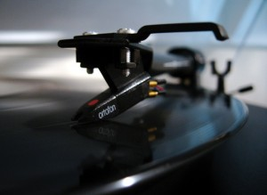 turntable with ortofon cart  flickr picture Falling Sky