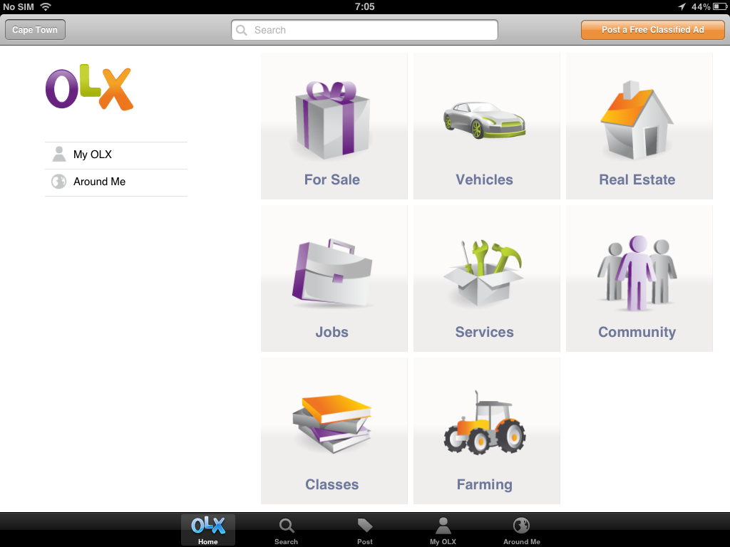 Reviewed: OLX Classifieds for iOS is a newsy app with bite - Gearburn