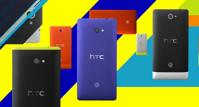 HTC Windows 8 phones