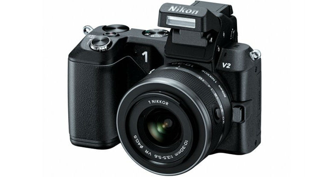 nikon v2 mirrorless camera
