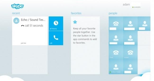 Skype Win 8