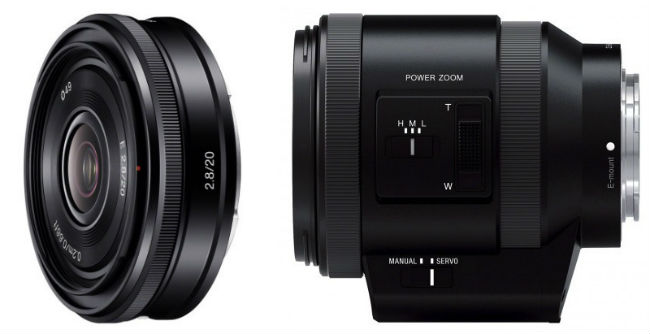Sony 18-200mm and pancake lens