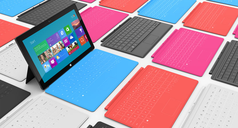 microsoft surface keyboards