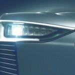 image of Audi's new LED