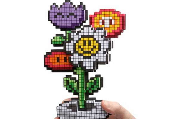 image of the snazzy 8-bit flowers