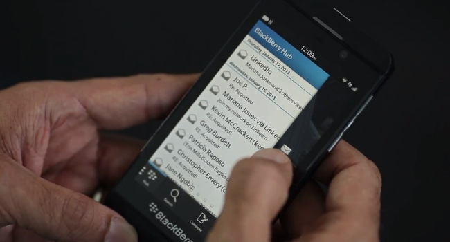 Sideload Android apps onto the BlackBerry Z10 with a PC