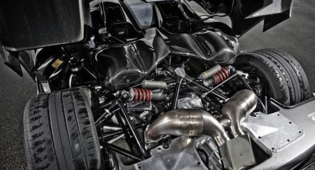 Koenigseg Engine