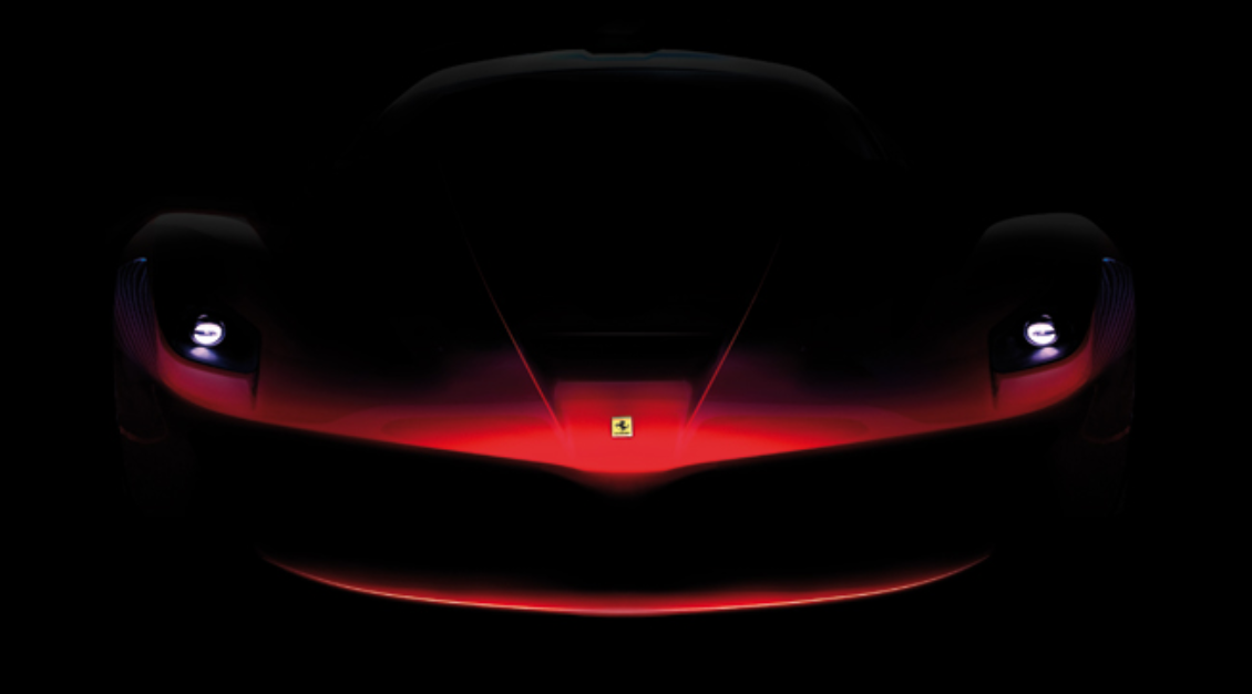 Image of the new Enzo Ferrari