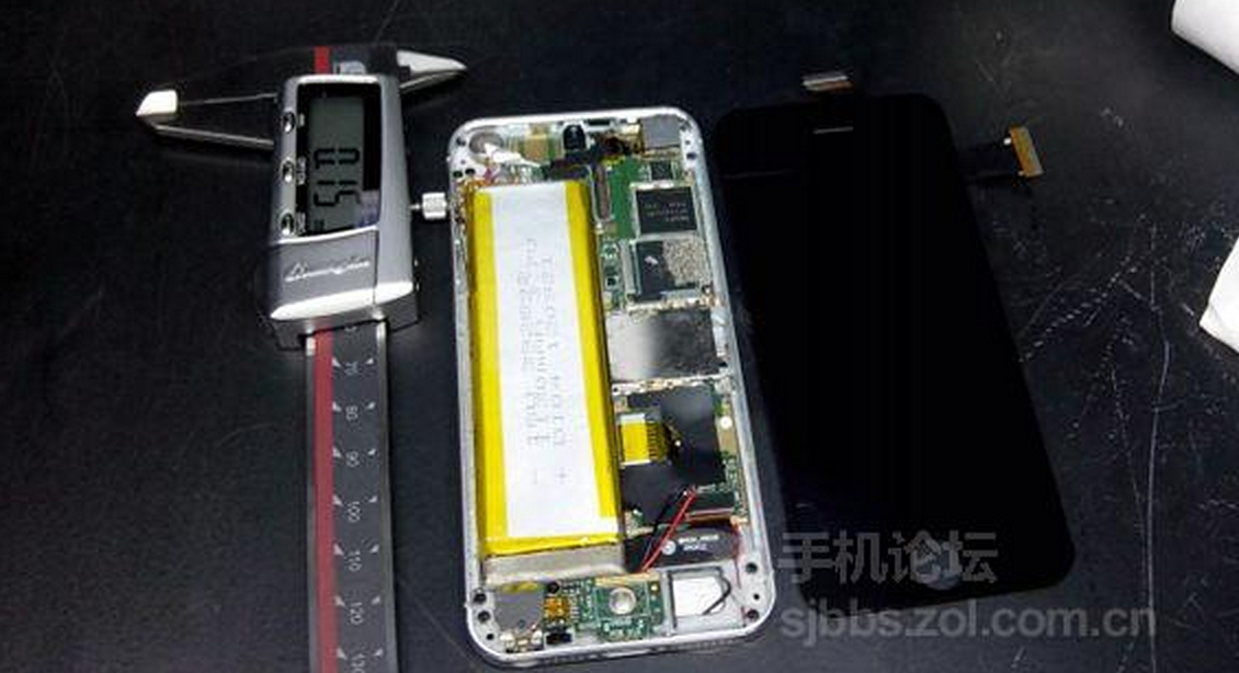 possible interior shot of the iPhone 5S