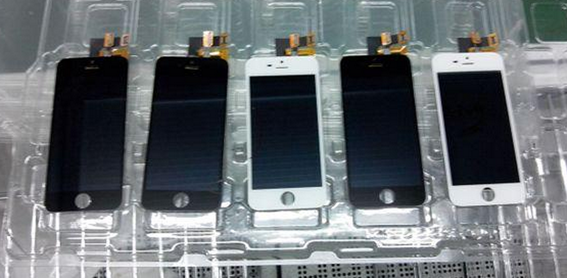 The iPhone 5S will come in white and black, this we know