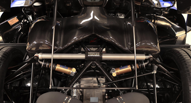 image of Koenigsegg Triplex Suspension