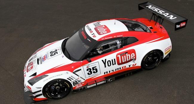 Nismo.tv gt-r gt3 racer youtube