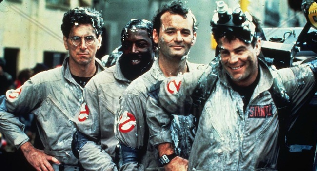 The four ghostbusters