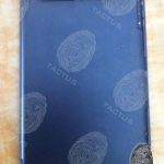 The alleged rear panel of the iPad 5