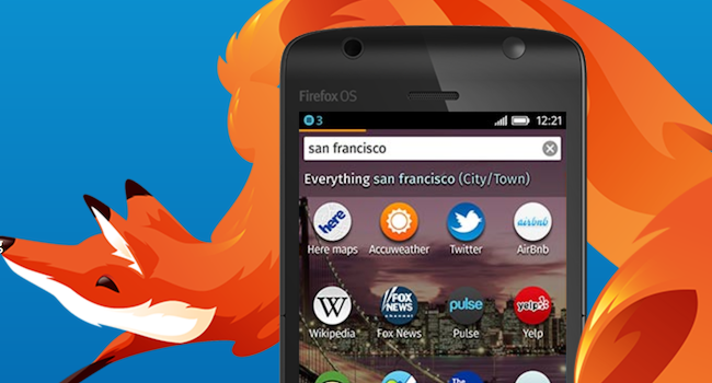 Firefox OS from site