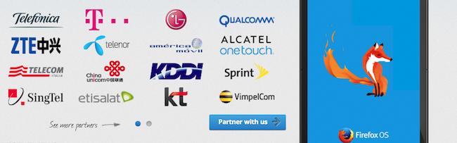 Firefox OS partners