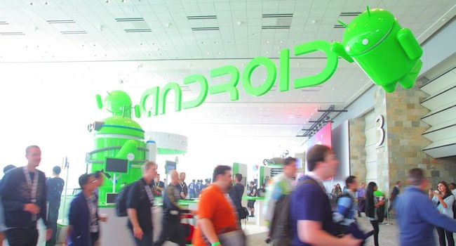 Google IO lead