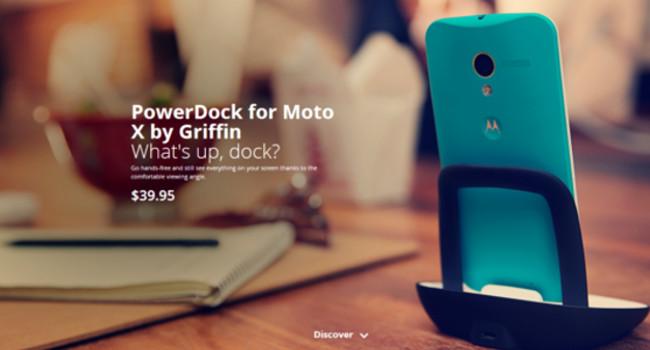 Dock Moto X