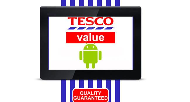 Tesco tablet