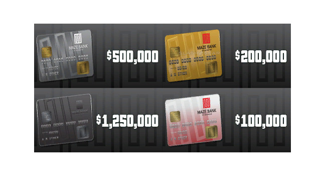 GTA cash cards