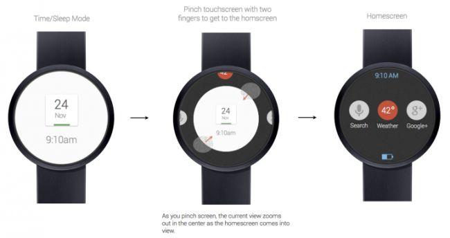 Google clock pinch 2