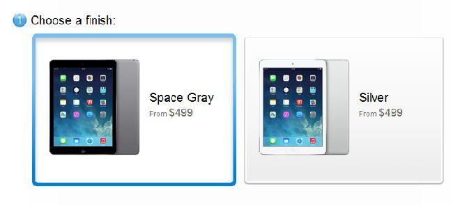 iPad Air cost