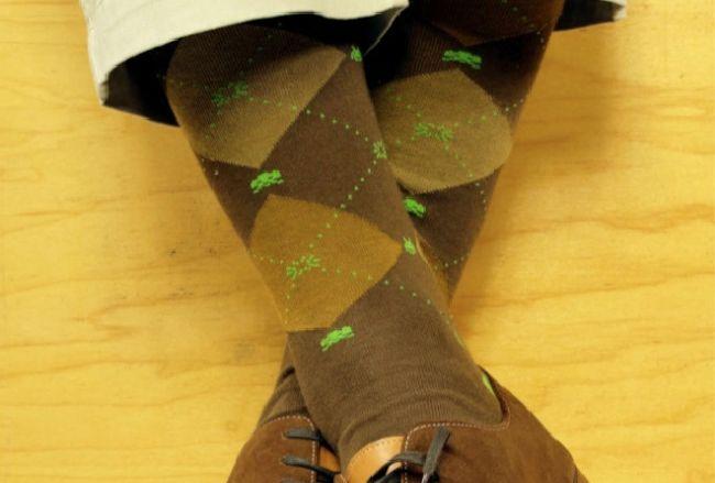 Space Invaders socks