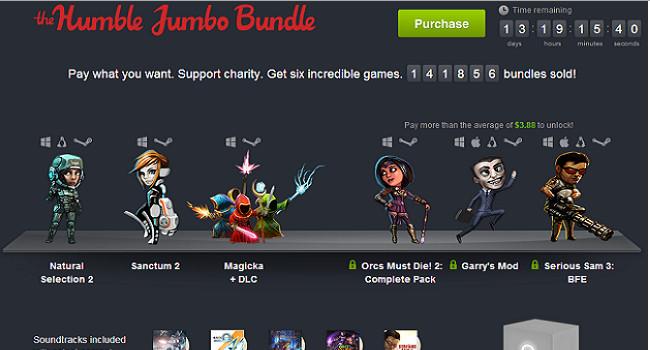 humble jumbo bundle