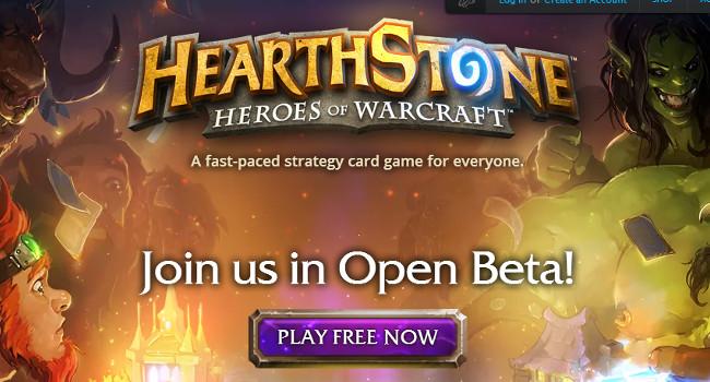 Hearthstone open beta