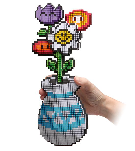8 bit flower