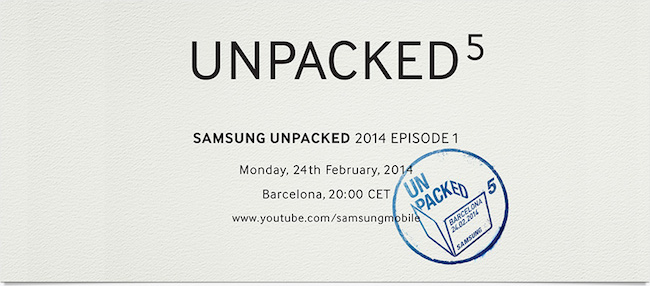 Samsung Unpacked Galaxy S5