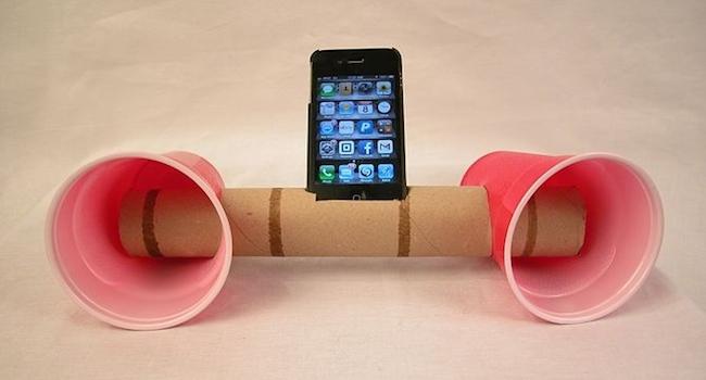 loo roll speakers