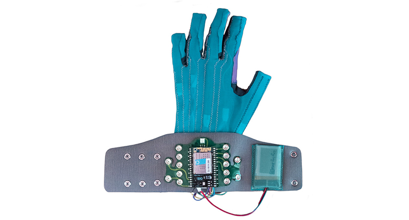Music glove lead