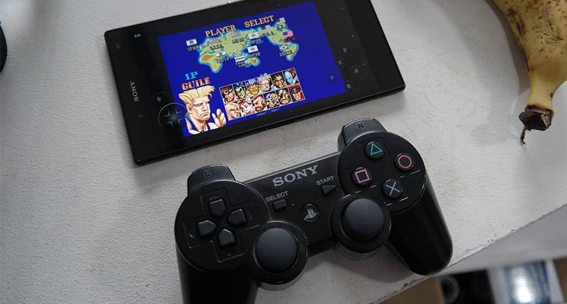 Sony phone and gamepad