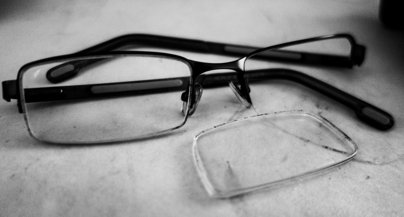 Broken Google Glasses