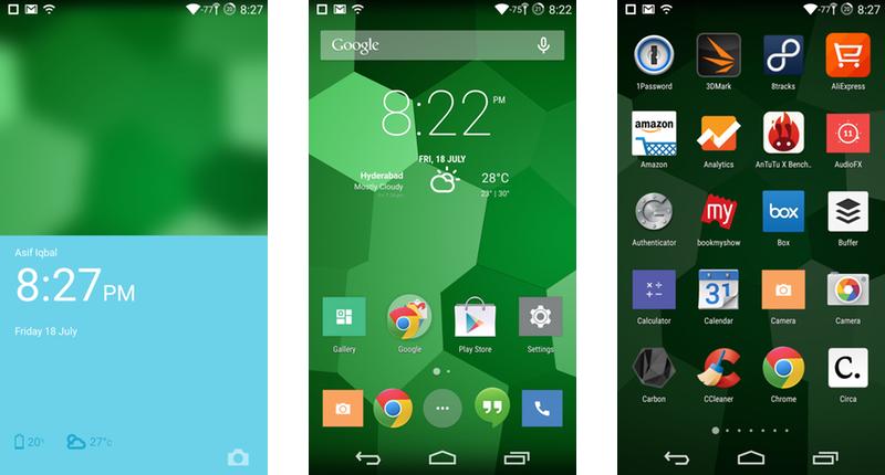 OnePlus One CyanogenMod 11S UI