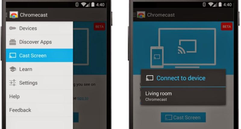 chromecast screen sharing 3