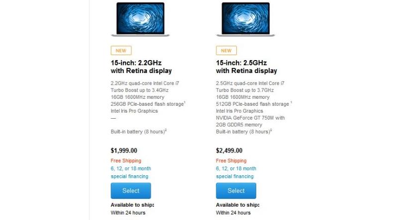 new macbook pros 2