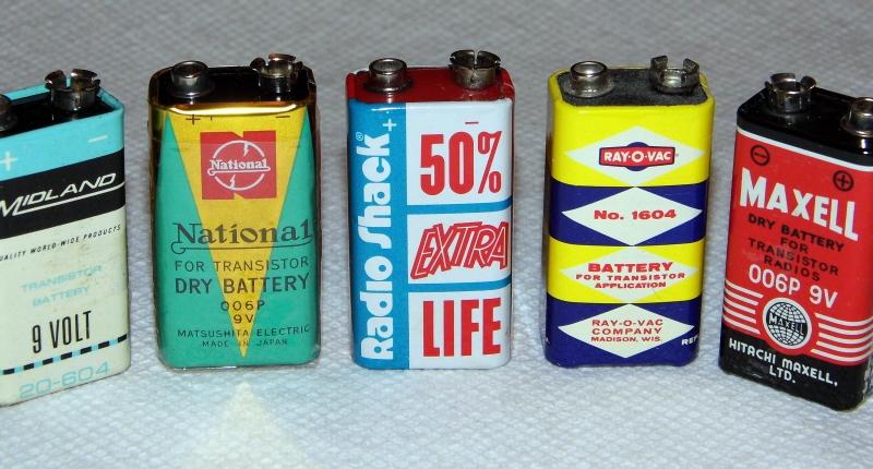 vintage battery