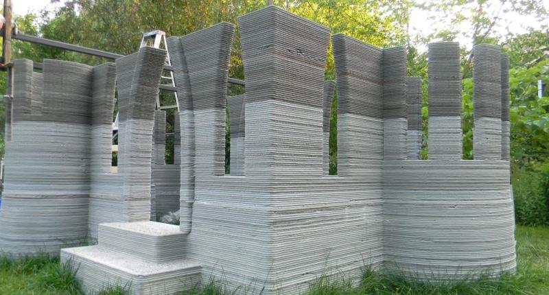 3d printed castle