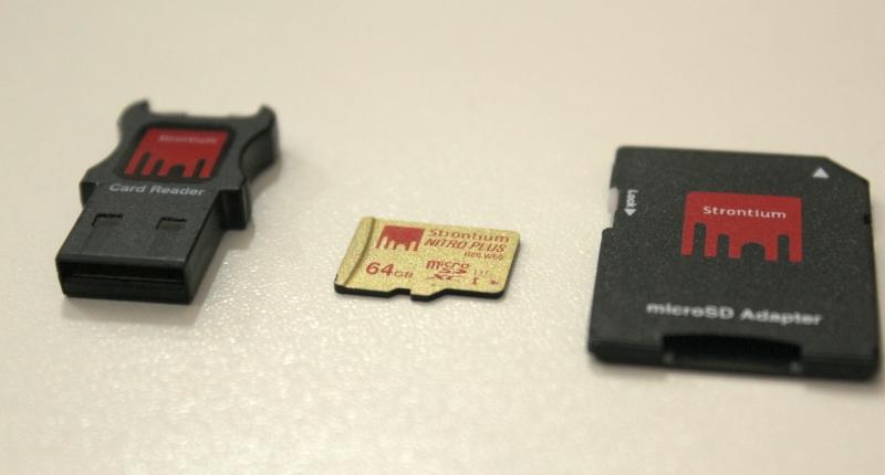 Strontium SD card 2