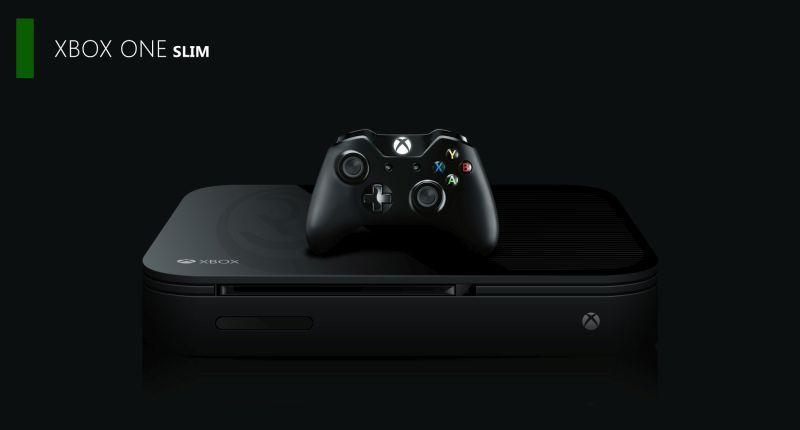Xbox One Slim lead