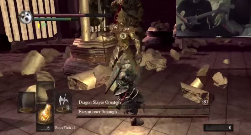 Guitar Souls - Ornstein and Smough - YouTube