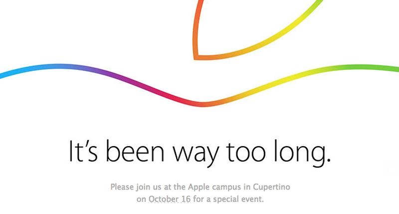Apple October 16 Launch