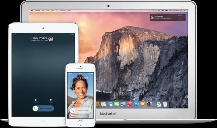 Apple iOS 8 Continuity Phone Calls