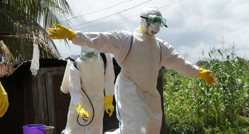 Ebola robots