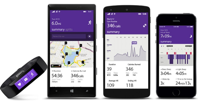 Microsoft Health Cross platform