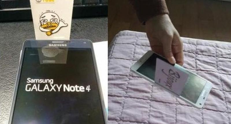 Samsung Galaxy Note 4 gapgate